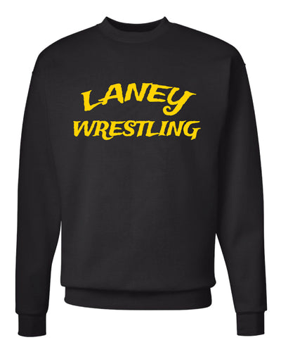 Laney Wrestling Crewneck Sweatshirt - Black