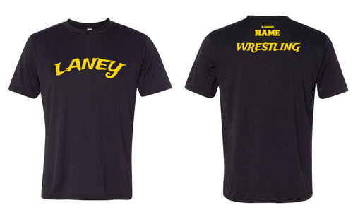 Laney Wrestling DryFit Performance Tee - Black