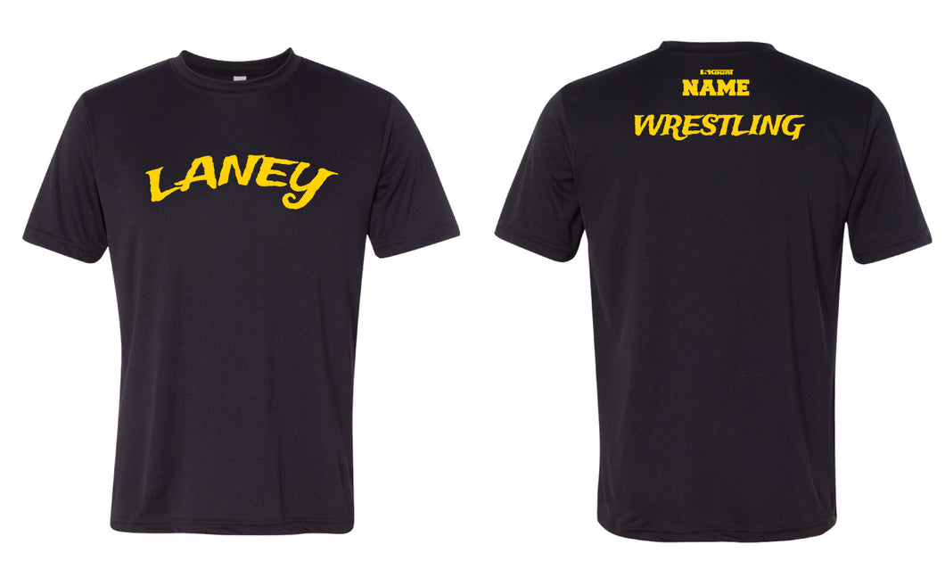 Laney Wrestling DryFit Performance Tee - Black - 5KounT2018