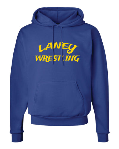Laney Wrestling Cotton Hoodie - Royal - 5KounT2018