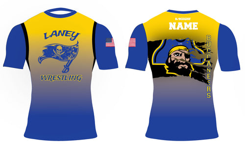 Laney Wrestling Sublimated Compression Shirt