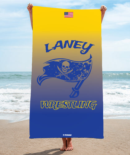Laney Wrestling Sublimated Beach Towel - 5KounT2018