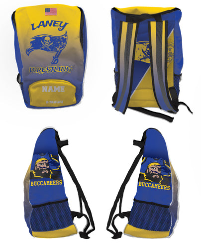 Laney Wrestling Sublimated Backpack