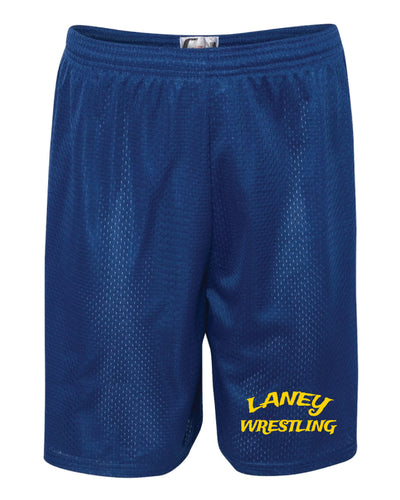Laney Wrestling Tech Shorts - Royal - 5KounT2018