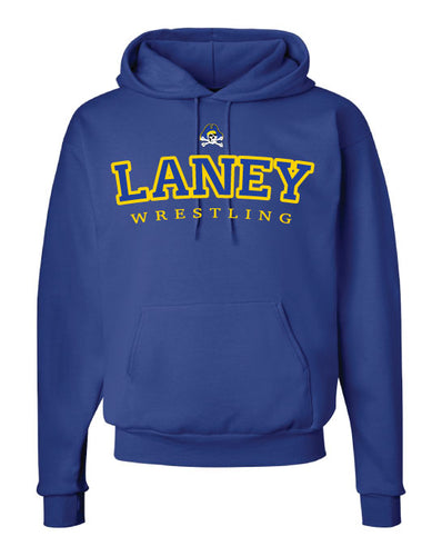 Laney Wrestling Cotton Hoodie 2 - Royal - 5KounT2018