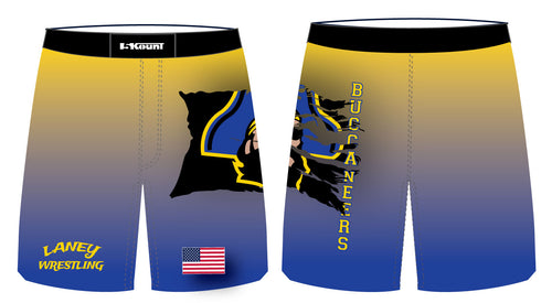 Laney Wrestling Sublimated Fight Shorts