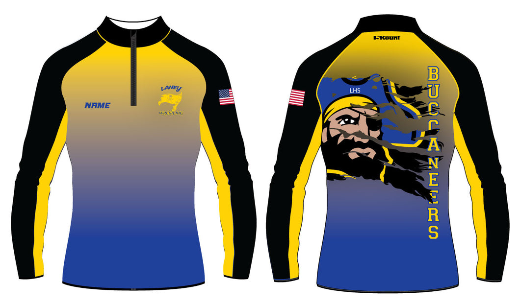 Laney Wrestling Sublimated Quarter Zip - 5KounT