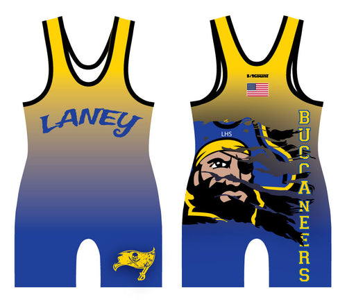 Laney Wrestling Sublimated Singlet - 5KounT2018