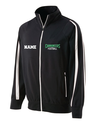 Cannoneers Football Full Zip Determination Jacket - Black - 5KounT2018