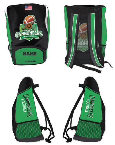Cannoneers Football Sublimated Backpack - 5KounT2018