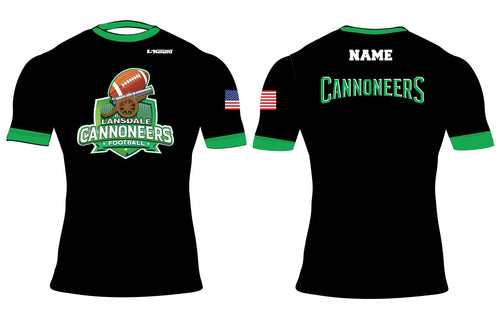 Cannoneers Football Sublimated Compression Shirt - 5KounT2018