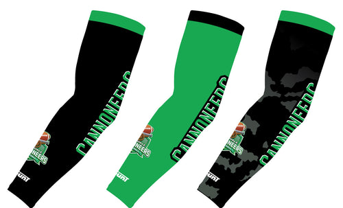 Cannoneers Football Sublimated Compression Sleeves - Black / Green / Camo - 5KounT2018
