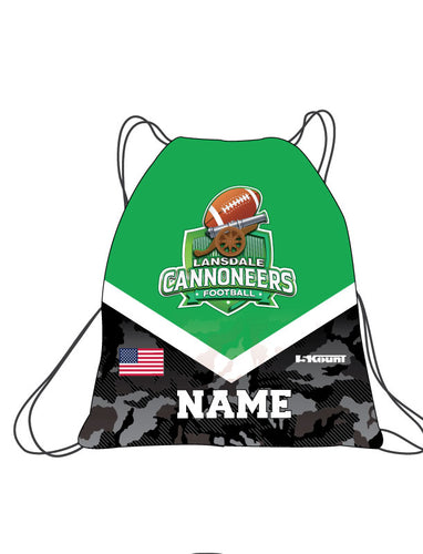 Cannoneers Football Sublimated Drawstring Bag - 5KounT2018