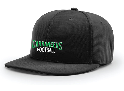 Cannoneers Football Flexfit Cap - Black - 5KounT2018