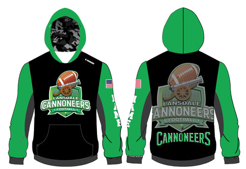 Cannoneers Football Sublimated Hoodie - 5KounT2018