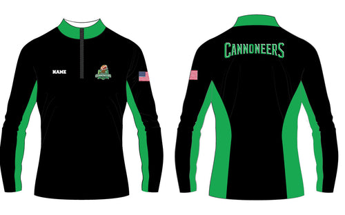 Cannoneers Football Sublimated Quarter Zip - 5KounT2018