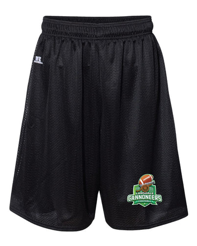 Cannoneers Football Russell Athletic Tech Shorts - Black - 5KounT2018