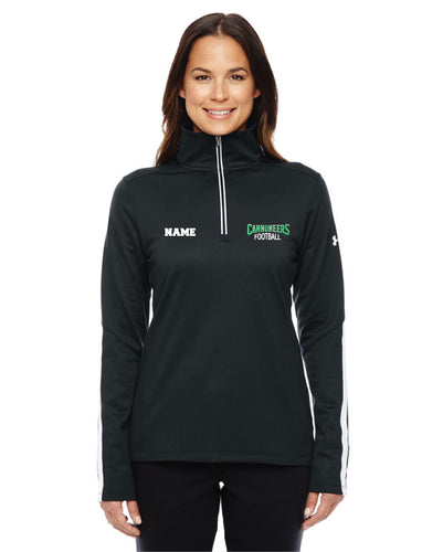 Cannoneers Football Under Armour Ladies Quarter Zip - Black - 5KounT2018