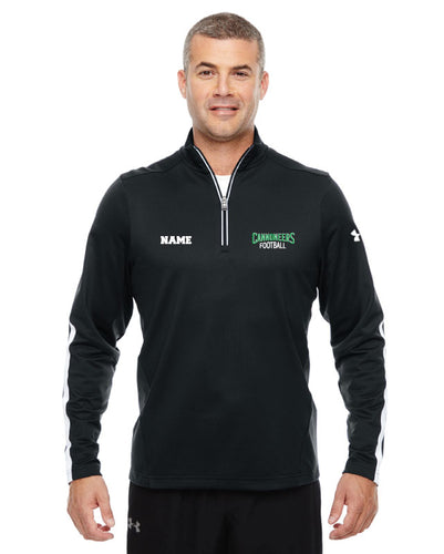 Cannoneers Football Under Armour Mens Quarter Zip - Black - 5KounT2018