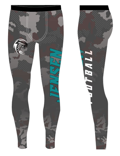 Jensen Beach Falcons Football Sublimated Boys Legging