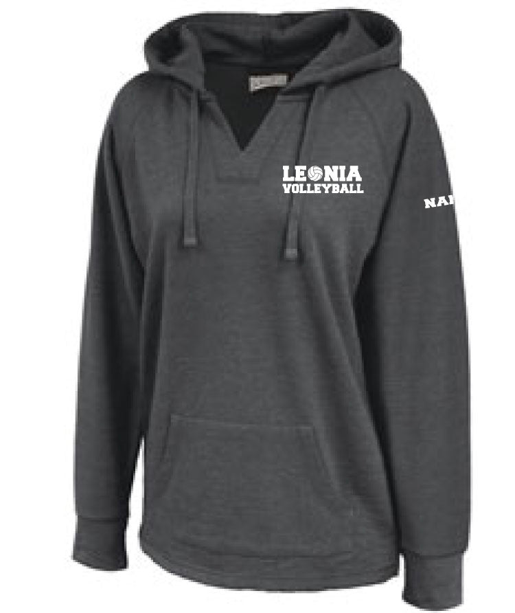 Leonia Lady Lions Volleyball - Volley Hoodie - 5KounT