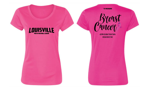 Louisville Football Women's DryFit Performance Tee - Sport Charity Pink