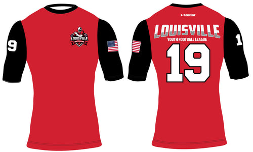 Louisville Football Sublimated Compression Shirt - 5KounT2018