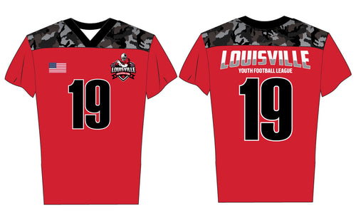 Louisville Flag-Football Sublimated Jersey - 5KounT2018