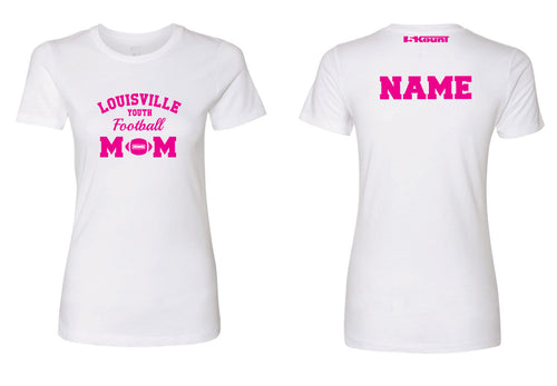 Louisville Football Cotton Women's Crew Tee Cheer Mom - 5KounT2018