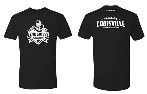 Louisville Football Cotton Crew Tee