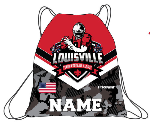 Louisville Football Sublimated Drawstring Bag