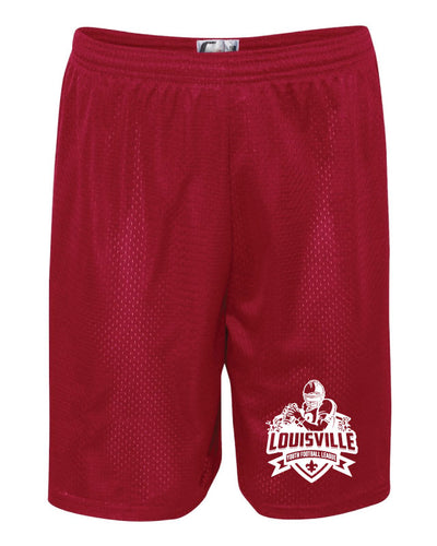 Louisville Football Tech Shorts Red/Black - 5KounT2018