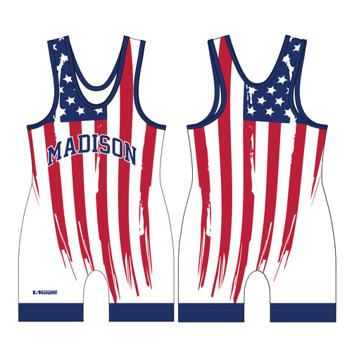 Madison Wrestling Sublimated USA Singlet - 5KounT2018