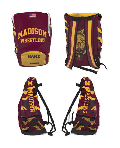 Madison Wrestling Sublimated Backpack - 5KounT2018