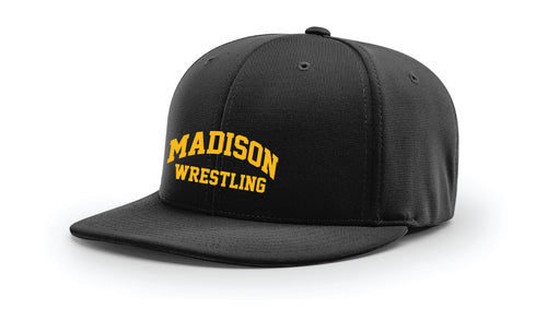 Madison Wrestling FlexFit Cap - Black / Maroon - 5KounT2018