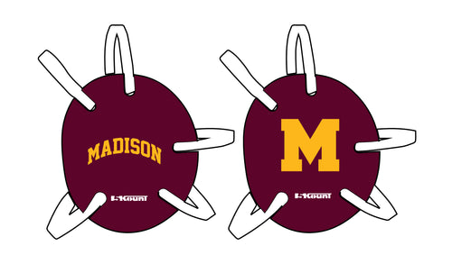 Madison Wrestling Headgear - Maroon - 5KounT2018