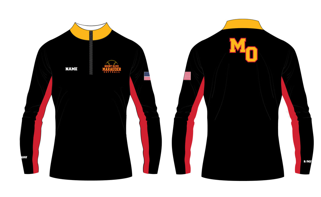 Mount Olive Marauders Sublimated Quarter Zip - 5KounT2018