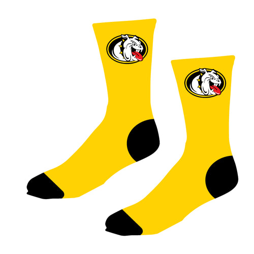 Murphy HS Sublimated Socks - Athletic Gold - 5KounT2018