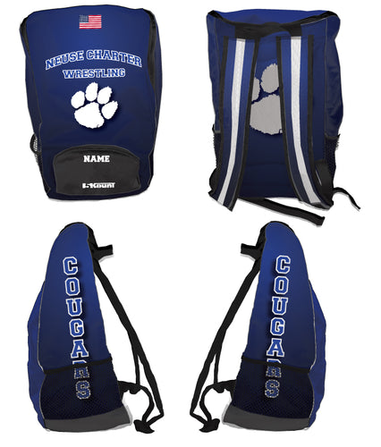 Neuse Wrestling Sublimated Backpack