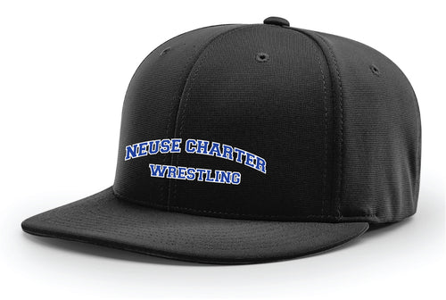 Neuse Wrestling FlexFit Cap - Black