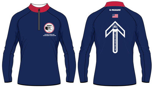 NWAA Sublimated Quarter Zip