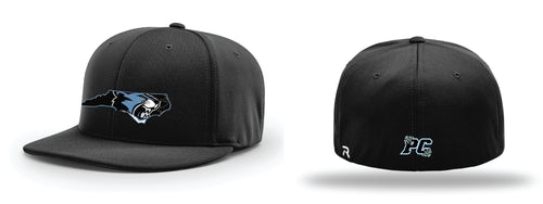 Panther Creek Softball FlexFit Cap - Black