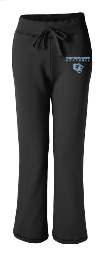 Panther Creek Softball Women's Sweatpants - Black
