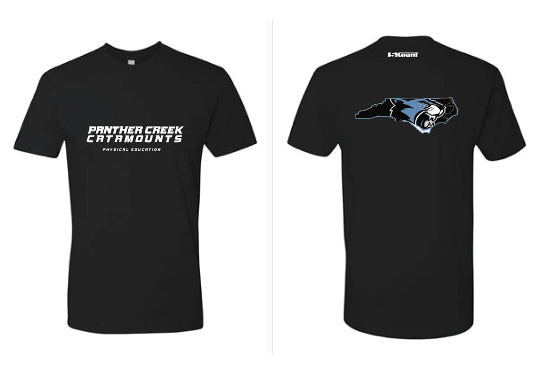 Panther Creek Softball PE Cotton Crew Tee Men - Black