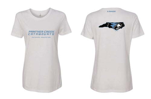 Panther Creek Softball PE Cotton Crew Tee Women - White
