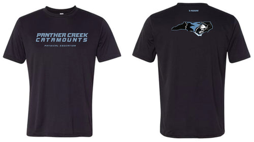Panther Creek Softball PE DryFit Performance Tee - Men - Black