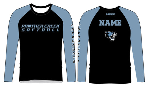 Panther Creek Softball Sublimated Long Sleeve
