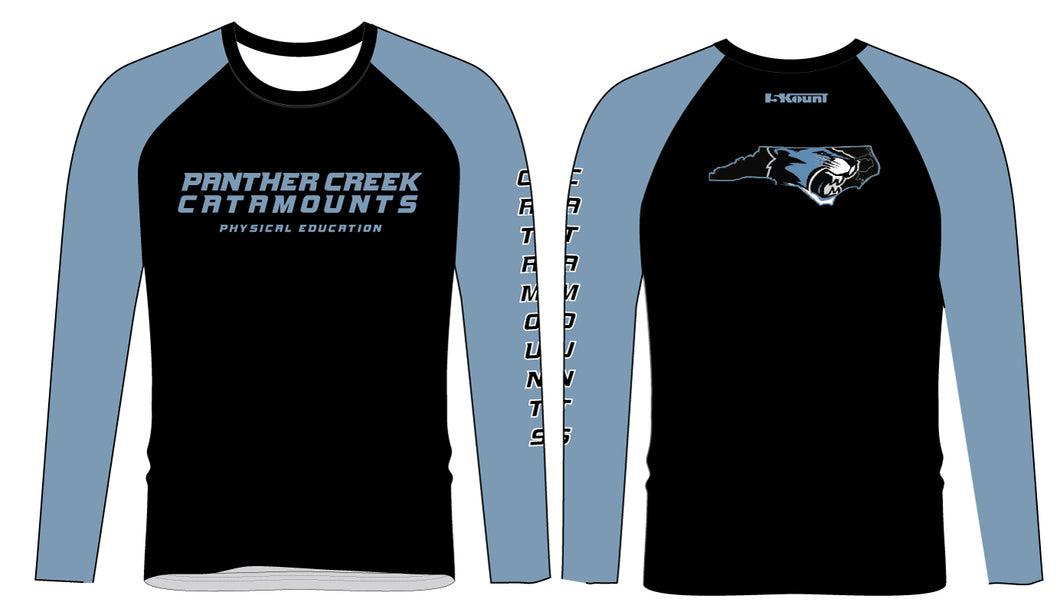 Panther Creek Softball PE Softball Sublimated Long Sleeve