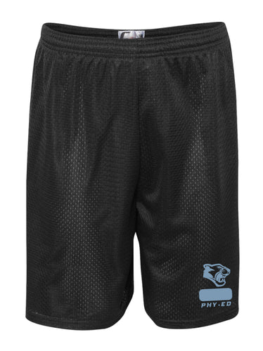 Panther Creek Softball PE Tech Shorts - Black