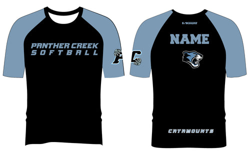 Panther Creek Softball Sublimated Short Sleeve